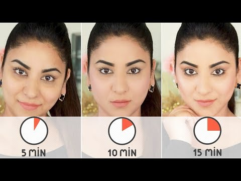 5, 10 & 15 Minute Easy Everyday/Work Makeup Tutorial thumbnail