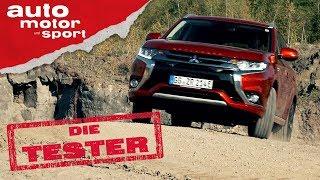 Mitsubishi Outlander Plug-In Hybrid: Über Stock Und Stein - Die Tester | Auto Motor Und Sport