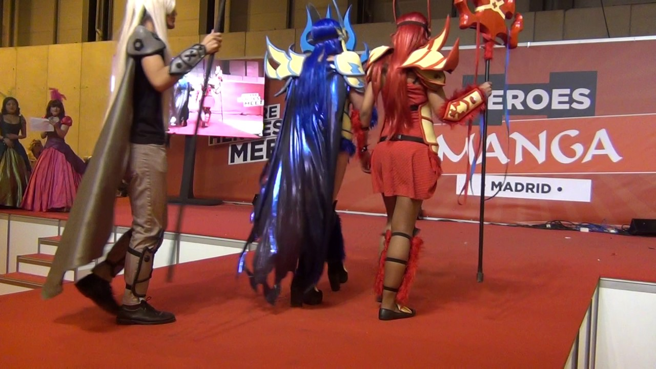 Salon Manga Madrid Crónica Cosplay Heroes Manga Madrid 2017 Escosplay