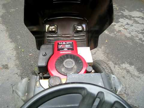1999 42inch Murray Riding Lawn Mower 013 Youtube