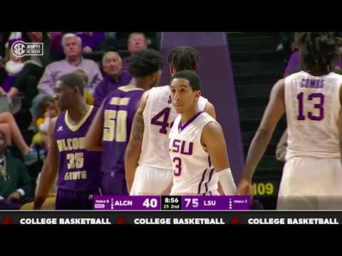 Tremont Waters LSU vs Alcorn State - College Debut | 11.10.17 |