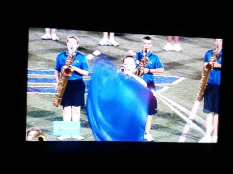 HILLIARD BRADLEY HIGH SCHOOL BAND HALFTIME VERSUS NEW ALBANY THURSDAY NIGHT LIGHTS CW53