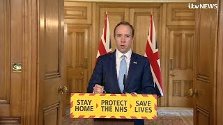 Live: Government gives daily UK coronavirus update - April 2   ITV News