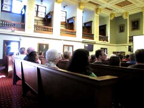 Anatomy Of A Murder Shown In Courthouse Youtube