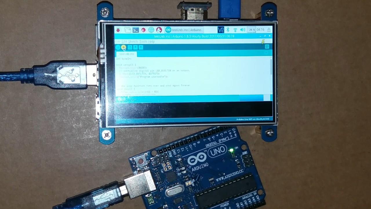 Wiringpi Serial Arduino on