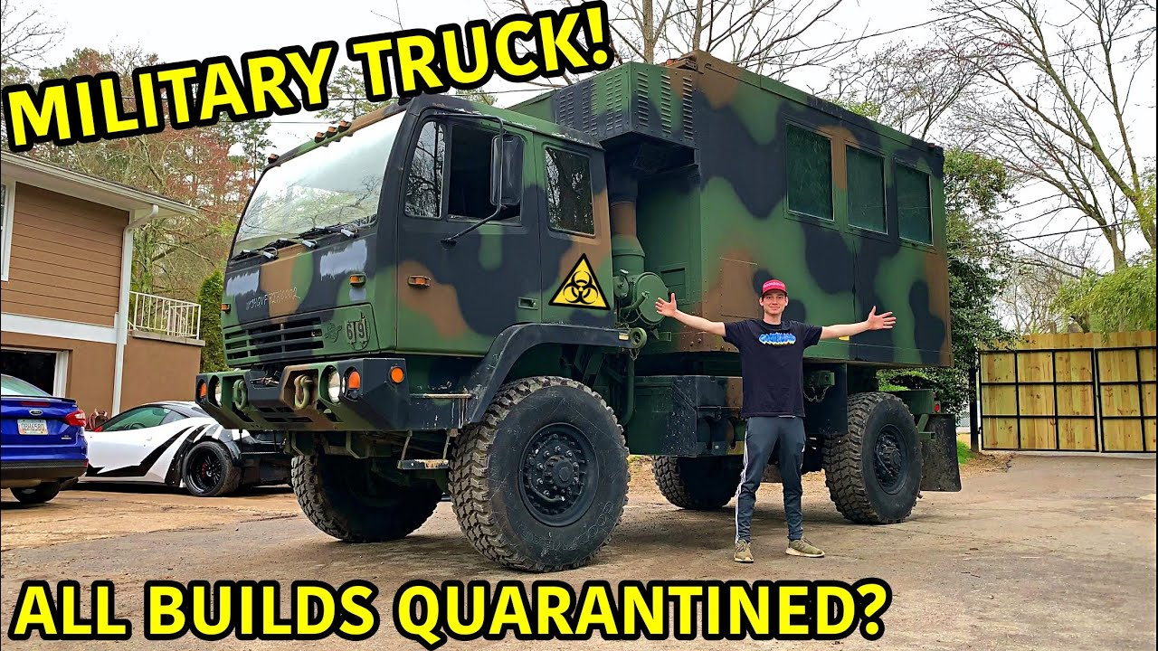 Building The Ultimate Apocalypse Vehicle!!!