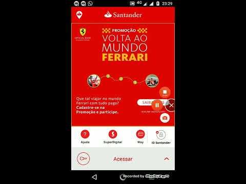 ID Santander #IDSantander #aplicativosantander