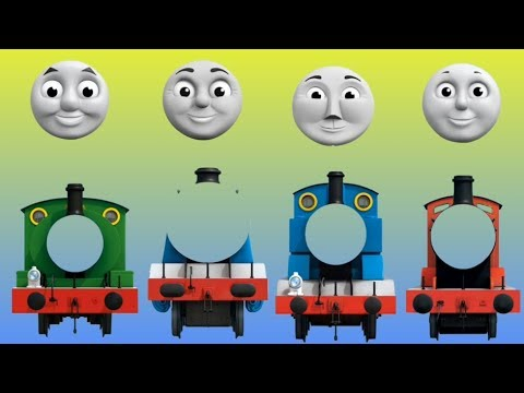 Wrong Face Thomas and friends Finger Family Nursery Rhymes Song
