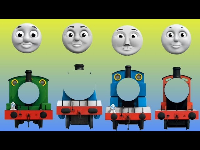 Wrong Face Thomas And Friends Finger Family Nursery Rhymes Song Kids Home