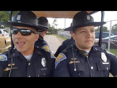 State Troopers Hilariously Lip Sync To 'Grease' While Patrolling State Fair