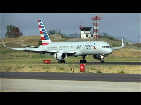 [HD MOVIE] Spotting at Lisbon Airport on a cloudy morning - 16/08/2015