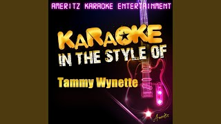 Apartment #9 (In the Style of Tammy Wynette) (Karaoke Version)