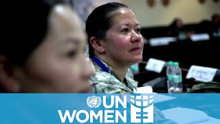 Peacekeeping Training for Female Military Officers