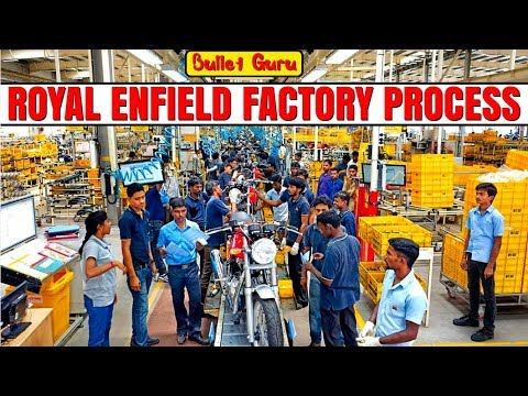 #14 Royal Enfield Manufacturing Process Plant Chennai / Full bullet making process /RE Plant Channai