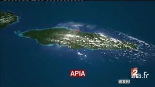 Iles Samoa / conduite désormais à gauche