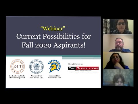[Full Webinar] Know USA Universities Plan For Fall 20 And Spring 21