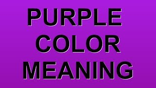 Download lagu PURPLE COLOR MEANING MP3