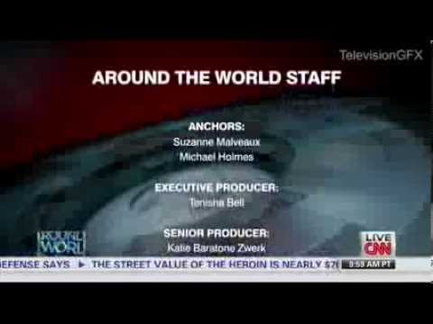 CNN Around the World Ending Credits