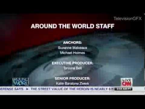 CNN Around the World Ending Credits