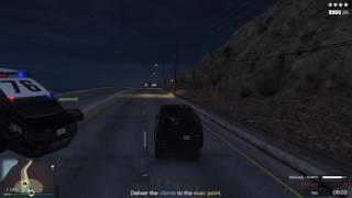 GTA 5 Escape Escort