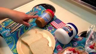 Sandwich Fluffernutter - Recette Américaine