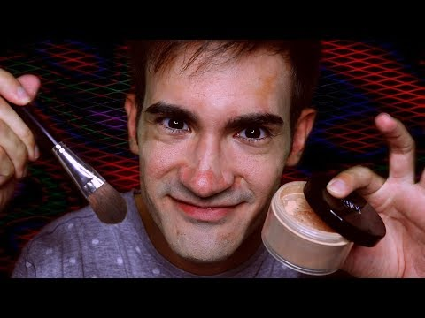 Psycho MUA Applies Makeup On Himself (ASMR Roleplay)