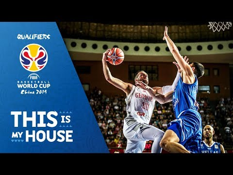 Georgia v Greece – Highlights – FIBA Basketball World Cup 2019 – European Qualifiers