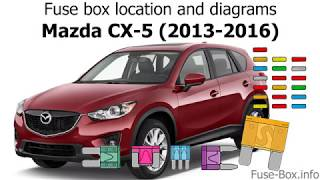 [SCHEMATICS_4PO]  Fuse box location and diagrams: Mazda CX-5 (2013-2016) - YouTube | Mazda Cx 5 Fuse Box Location |  | YouTube