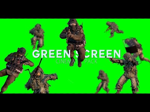 MW2 Green Screen Cinematic Pack (1080p/300fps)