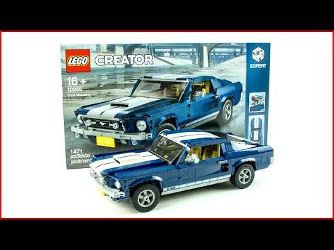 LEGO CREATOR 10265 Ford Mustang Construction Toy - UNBOXING