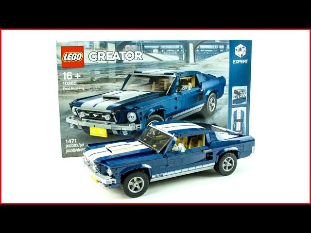 LEGO CREATOR 10265 Ford Mustang Construction Toy – UNBOXING