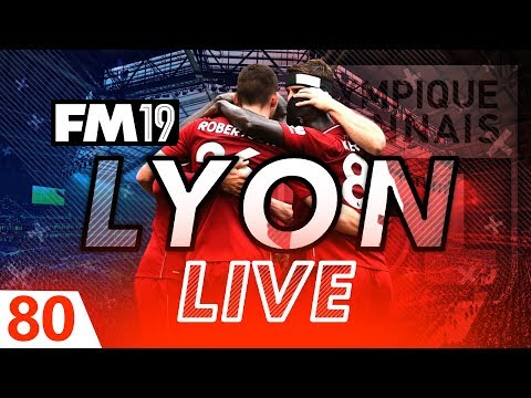 Football Manager 2019 | Lyon Live #80: Anfield Miracle? #FM19