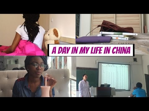 A DAY IN MY LIFE IN CHINA | Foreign Student in China