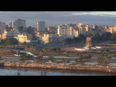 Royal Caribbean's Empress of the Seas arrives in Cuba