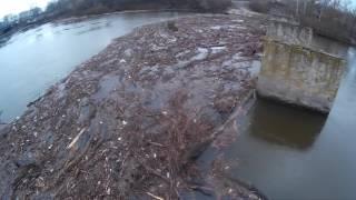 Завал на реке Псел.