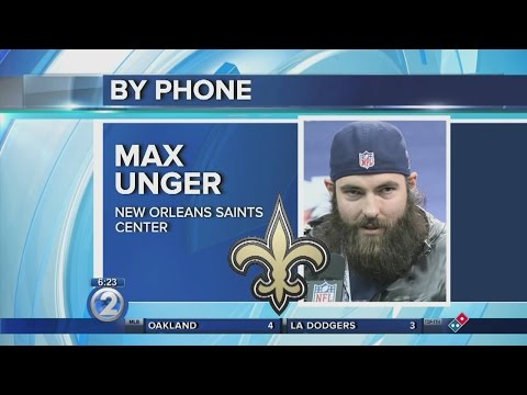 Kona's Max Unger acclimating to life in New Orleans with the Saints