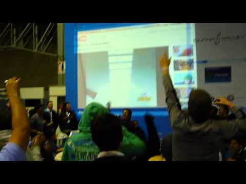 Campus Party Quito 2011 - Karaoke Digimon