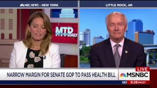 Gov. Hutchinson on MSNBC's MTP Daily - July 17, 2017