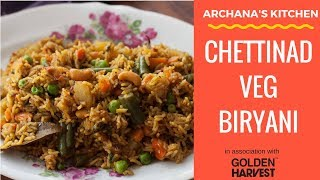 Chettinad Vegetable Biryani - South Indian Biryani Recipes by Archana's Kitchen