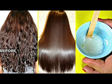 My Friend Told Me A Secret To Straighten Hair Permanently At Home (Better Than Keratin Or Rebonding)