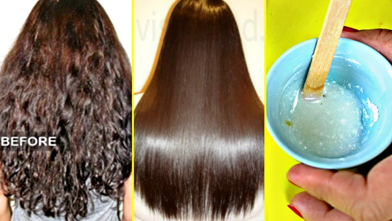 My Friend Told Me a Secret To Straighten Hair Permanently At Home (Better  Than Keratin Or Rebonding) 7109416709