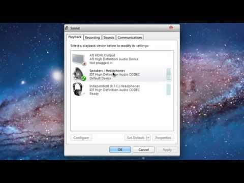 Khắc Phục lỗi thu âm trong Adobe Audition CS5 trên Windows 7