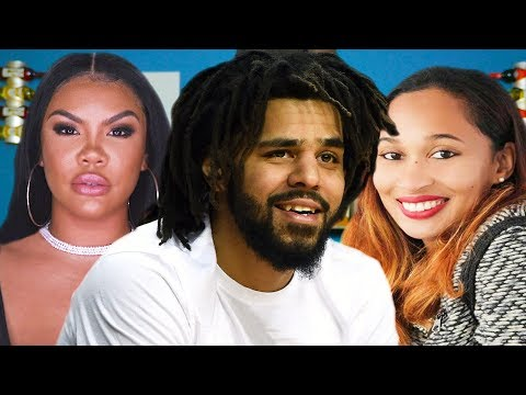 J Cole And His Wife Exclusive | J. ...