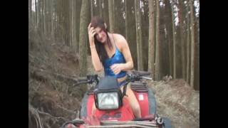 "Nicky Cream in ""Quad bike welly wearing trany, naturally!"" Thumbnail"