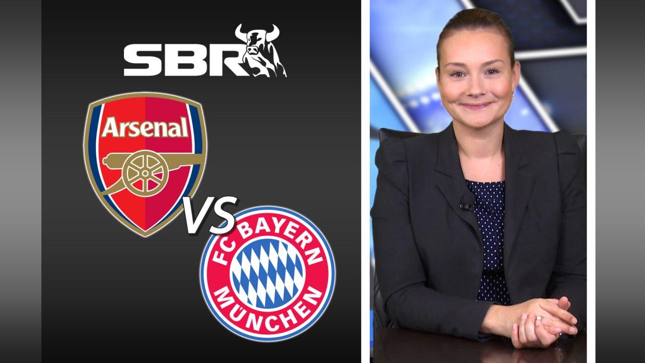Bayern munich vs arsenal betting predictions football odds betting tips
