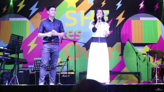 170506 Singapore Heritage Festival Rebecca Lim & Shaun Chen 年轮