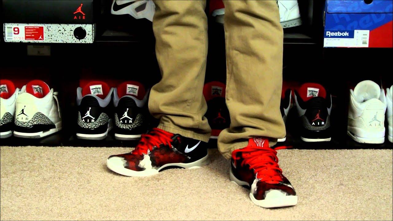 new products 456f1 b3e38 Nike Kobe 8 SYSTEM  Milk Snake  On Foot