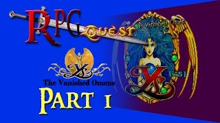 RPG Quest #9: Ys: The Vanished Omens (SMS) Part 1