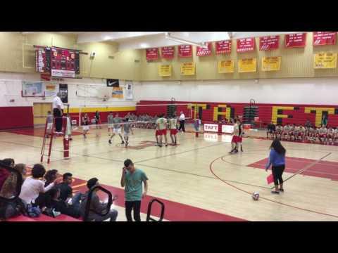 Boys Volleyball: Eagle Rock vs. Taft | CIF-LACS Playoffs Quarter-Finals (2017)