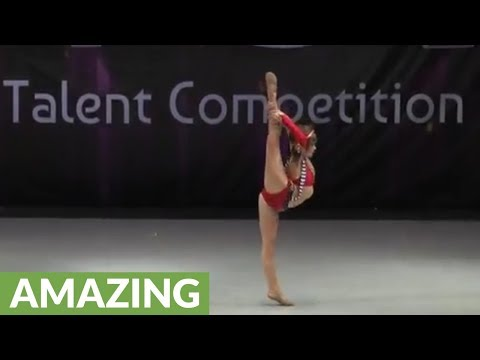 11-year-old channels her inner Britney Spears for amazing performance